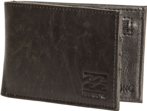 BILLABONG MENS WALLET.REVIVAL BROWN FAUX LEATHER MONEY CARD COIN PURSE 9W 1/19